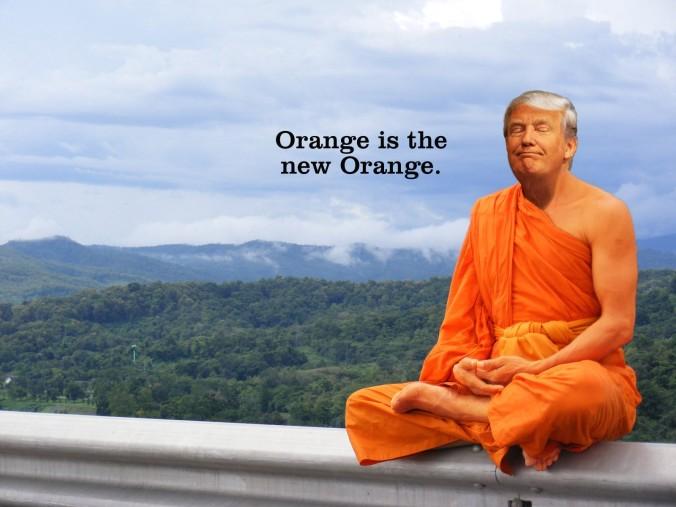 donald trump buddha